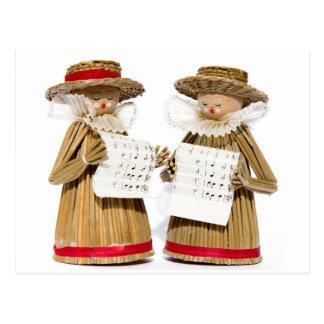 Carol Singers Decoration Briefkaart