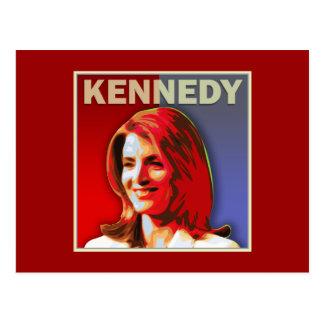 Caroline Kennedy voor de Senaat van de V.S. Briefkaart