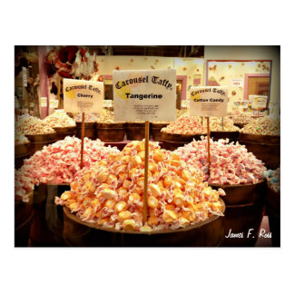 Carrousel Taffy Briefkaart