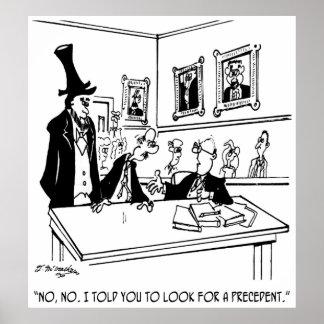 Cartoon 5488 van Lincoln Poster