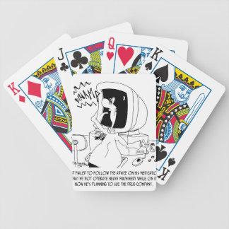 Cartoon 6512 van de drug poker kaarten