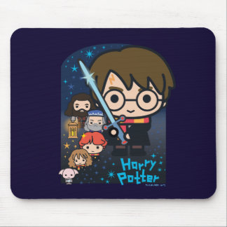 Cartoon Harry Potter Chamber van Grafische Muismat