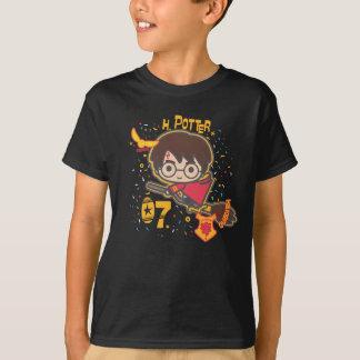 Cartoon Harry Potter Quidditch Seeker T Shirt