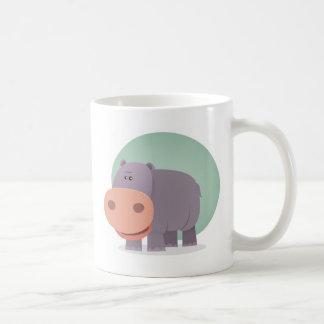 Cartoon Hippo Koffiemok