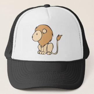 Cartoon van de Leeuw van het Baby van de Zitting Trucker Pet