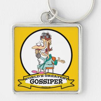 cartoon van de vrouwen gossiper van werelden de gr sleutel hangers