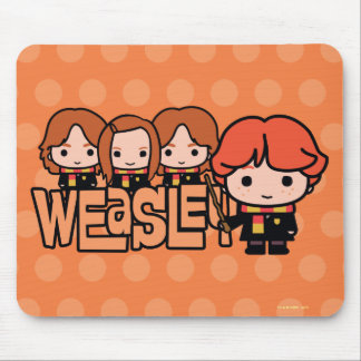 Cartoon Weasley Grafische Siblilings Muismat