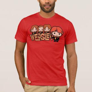 Cartoon Weasley Grafische Siblilings T Shirt