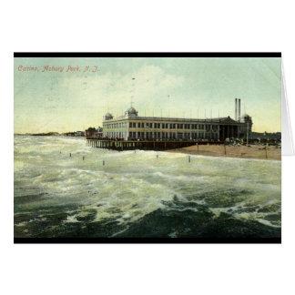 Casino, Asbury Park NJ 1910 Wenskaart