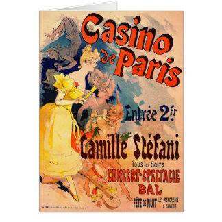 Casino DE Parijs 1891 Wenskaart