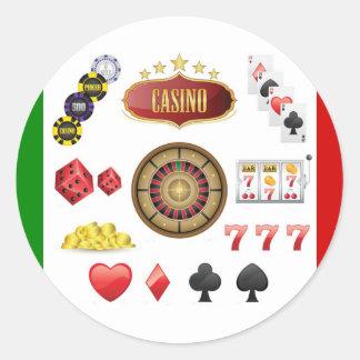 Casino Ronde Sticker