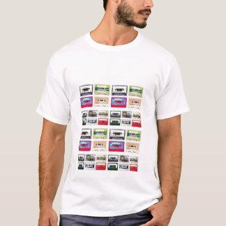 cassette-band t shirt