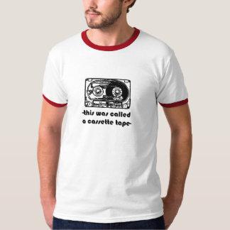 cassette band t shirt