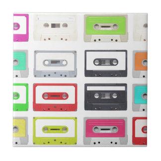 Cassette Keramisch Tegeltje