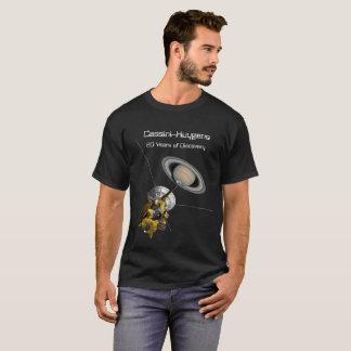 Cassini Huygens de Opdracht van 20 Jaar aan Saturn T Shirt