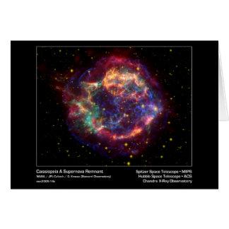 Cassiopeia een Röntgenstraal Obser van Briefkaarten 0