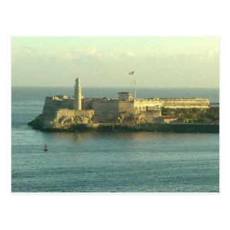 Castillo del Morro La Habana Cuba Briefkaart