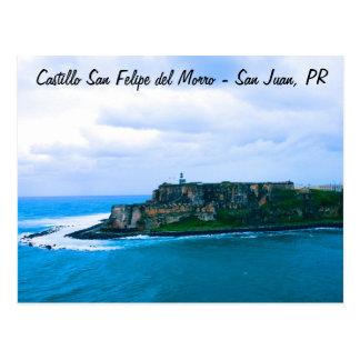 Castillo San Felipe del Morro - Oud San Juan Forts Briefkaart