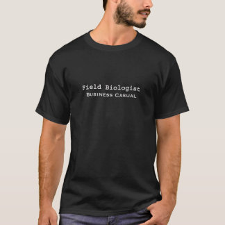 Casual de Zaken van de Bioloog van het gebied T Shirt