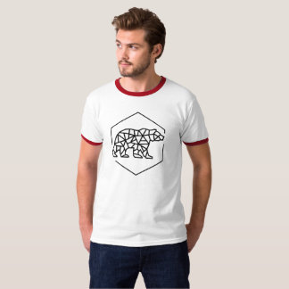 Casual draag geïnspireerde t-shirt