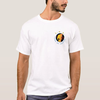casual slanke geschikte t-shirt (SPOOK)