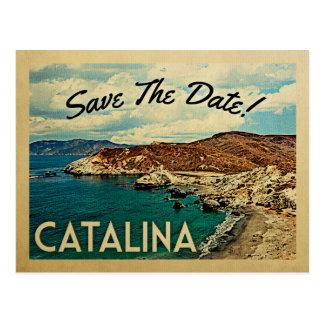 Catalina Island Save The Date Vintage Californië Briefkaart