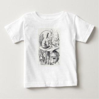 Caterpiller rookt een am van de Waterpijp ushrooa Baby T Shirts