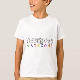 CATEZONE FINGERSPELLED ASL NAMESIGN T SHIRT