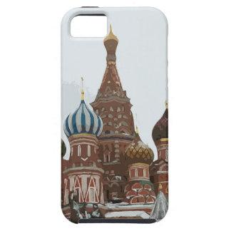 Cathedral_russo van het Basilicum van heilige Tough iPhone 5 Hoesje