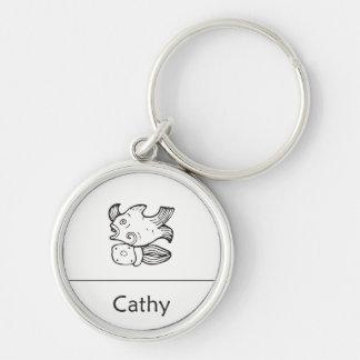 Cathy in Mayan Keychain Sleutelhanger