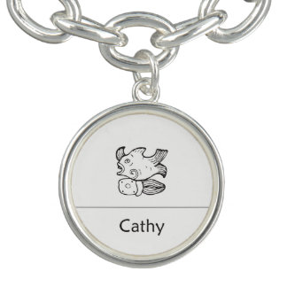 Cathy in Mayan Tegenhanger Bedel Armband