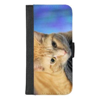 Caturday iPhone 8/7 Plus Portemonnee Hoesje