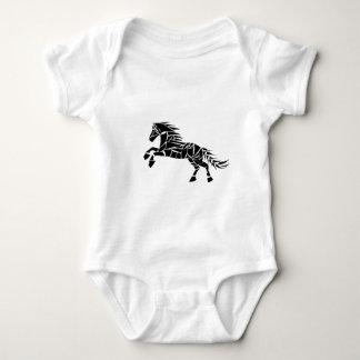 Cavallerone - zwart paard romper