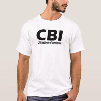 CBI (de Dienst van Californië van Onderzoek) T Shirt