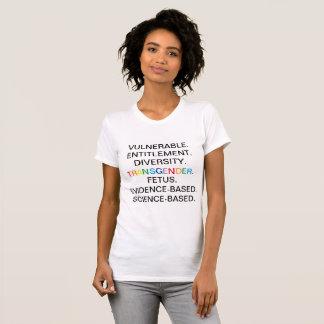 CDC Verboden Woorden T Shirt