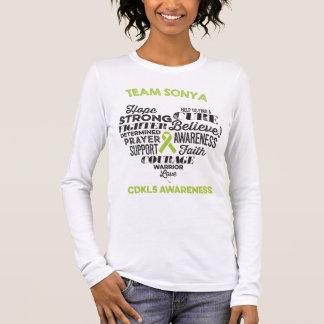 CDKL5 het Overhemd van de voorlichting, Sonya T Shirts