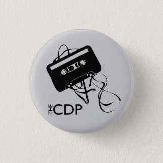 CDP mengeling-Band Knoop Ronde Button 3,2 Cm