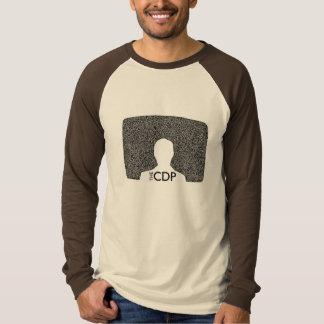 CDP Raglan van het Lawaai van het Mannen Witte T Shirt