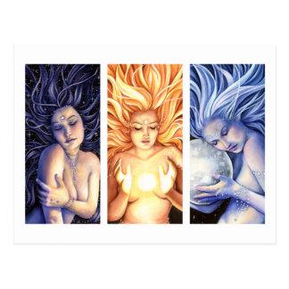 Celestials Briefkaart