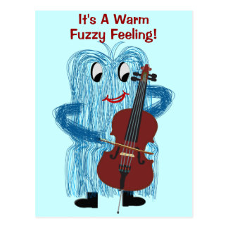 Cello - krijg een Warm Verward Gevoel Briefkaart