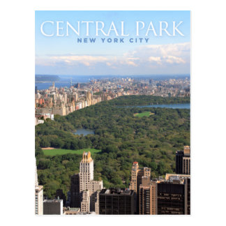 centraal park in New York Briefkaart