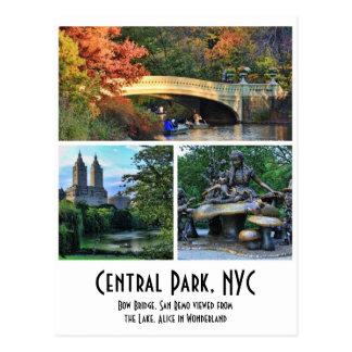Central Park: De Brug van de boog, San Remo, Alice Briefkaart