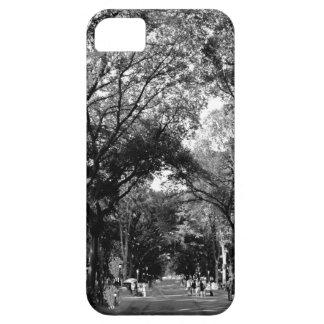 Central Park: De Gang van de dichter in de Zomer Barely There iPhone 5 Hoesje