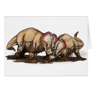 Centrosaurus - dinosaurus kaart