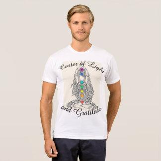Centrum van de Mannen t-shirt van het Licht en van