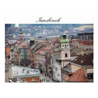 Centrum van Innsbruck Briefkaart
