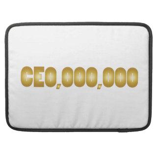 CEO pretkledij MacBook Pro Beschermhoes