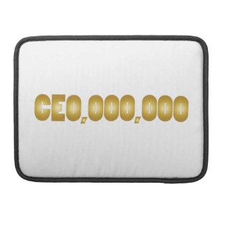 CEO pretkledij Sleeve Voor MacBooks