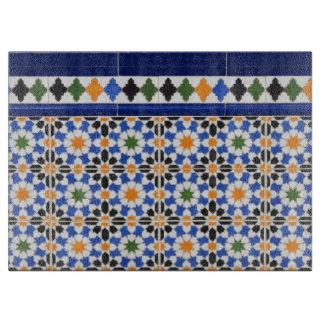 Ceramiektegels van Granada Snijplank
