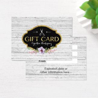 Certificaat van de Gift van de Salon van het Haar Visitekaartjes